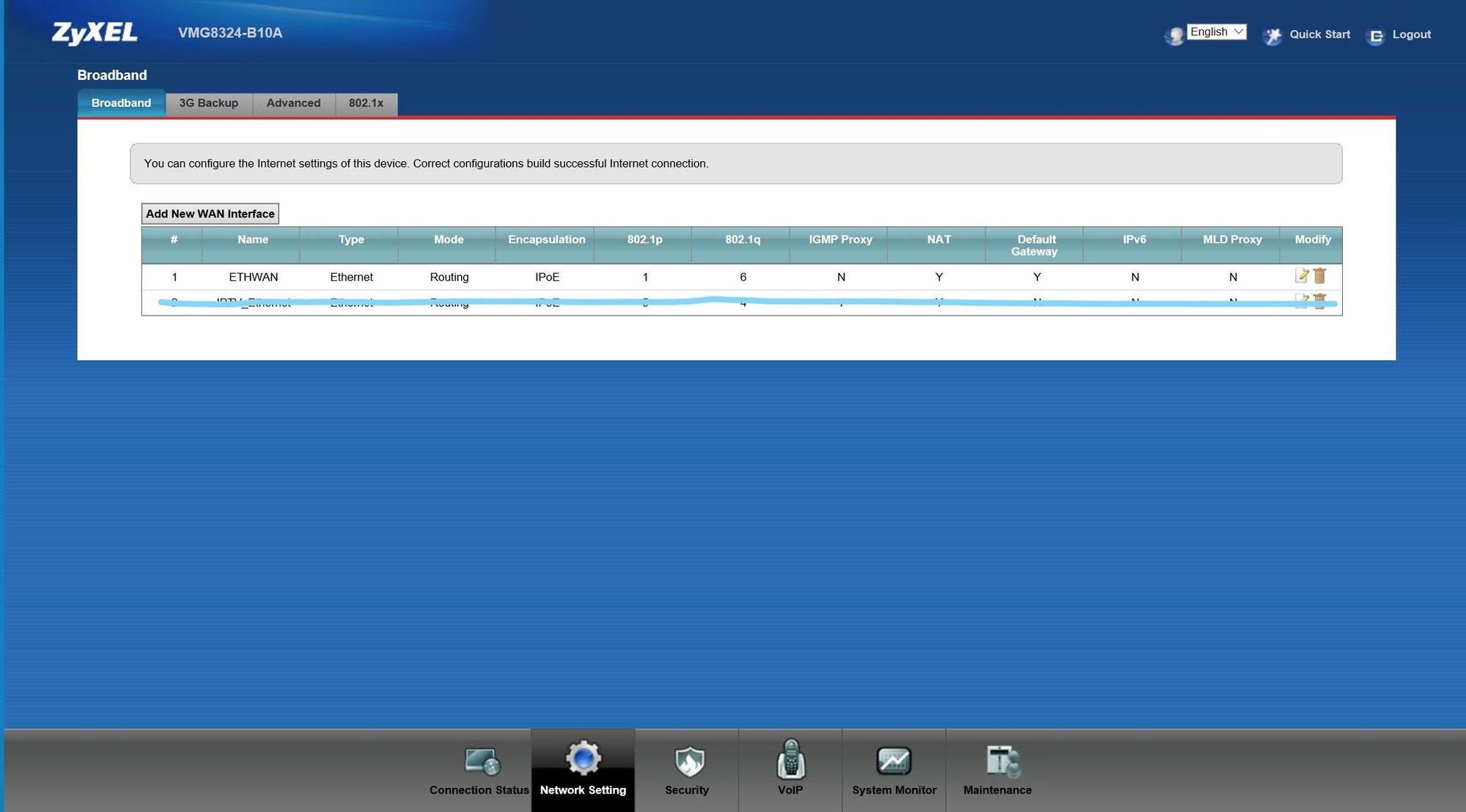 Modem setup IPoE connection for FIBER internet ? | Ubiquiti Community