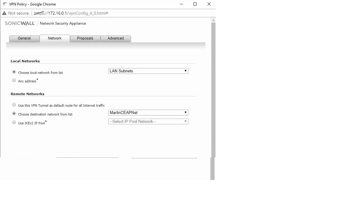 EdgeMAX - Configure the EdgeRouter to work with SonicWall