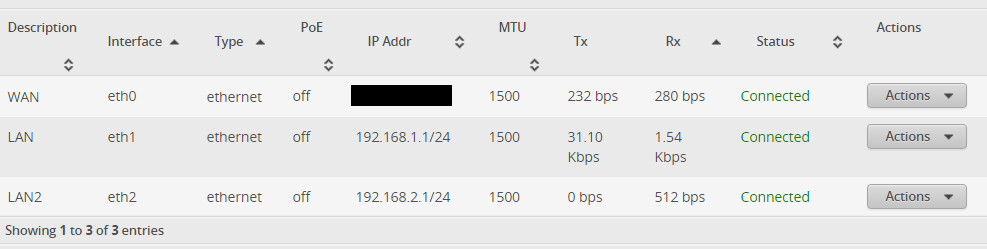 Help with two separate WiFi networks behind EdgeRouter X