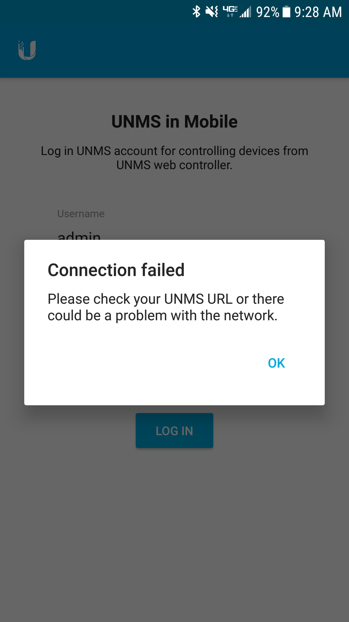 Unable to connect to unms from UMobile | Ubiquiti Community
