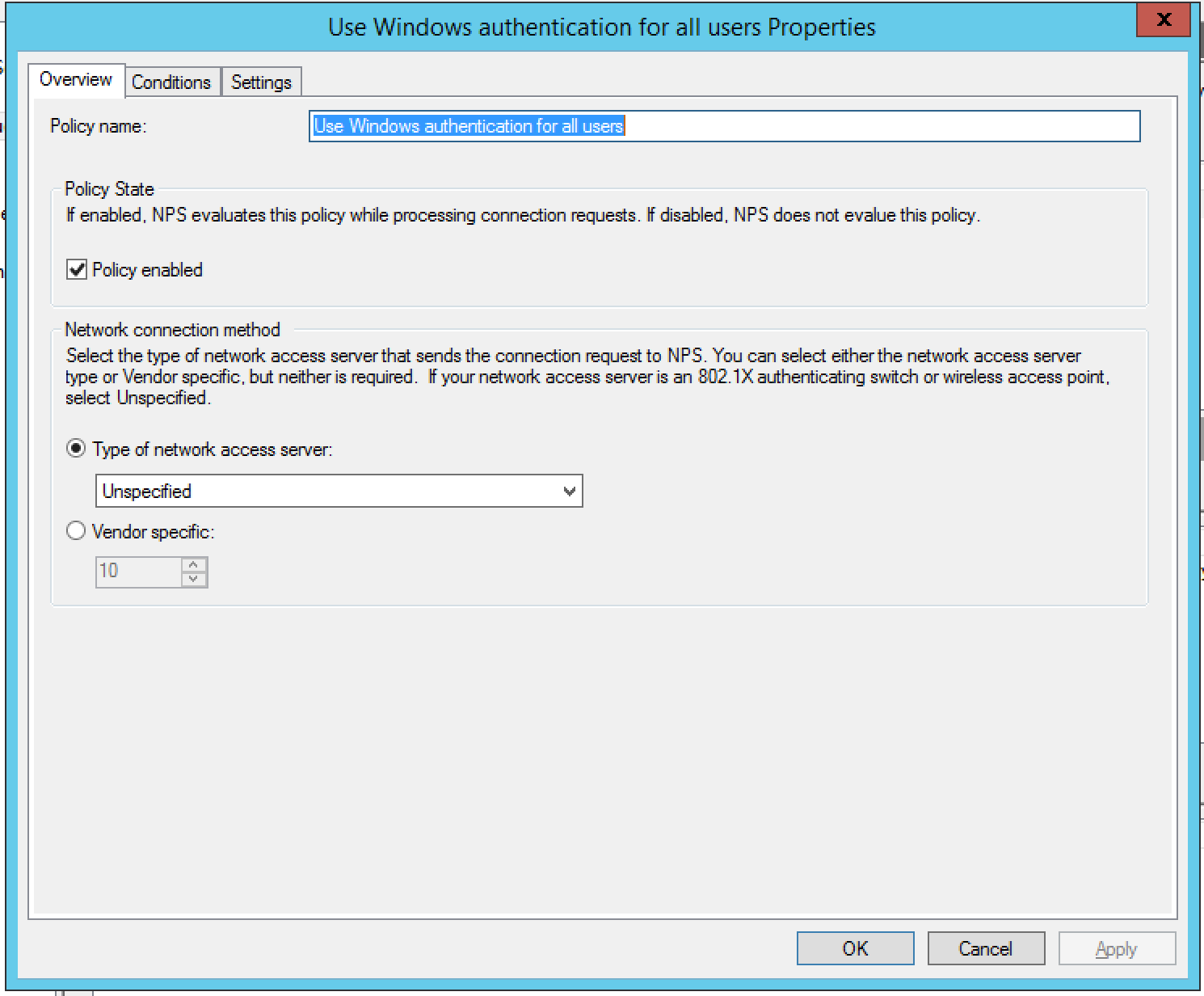 UniFi Radius Authentication with Win2K12R2 Server - Does not