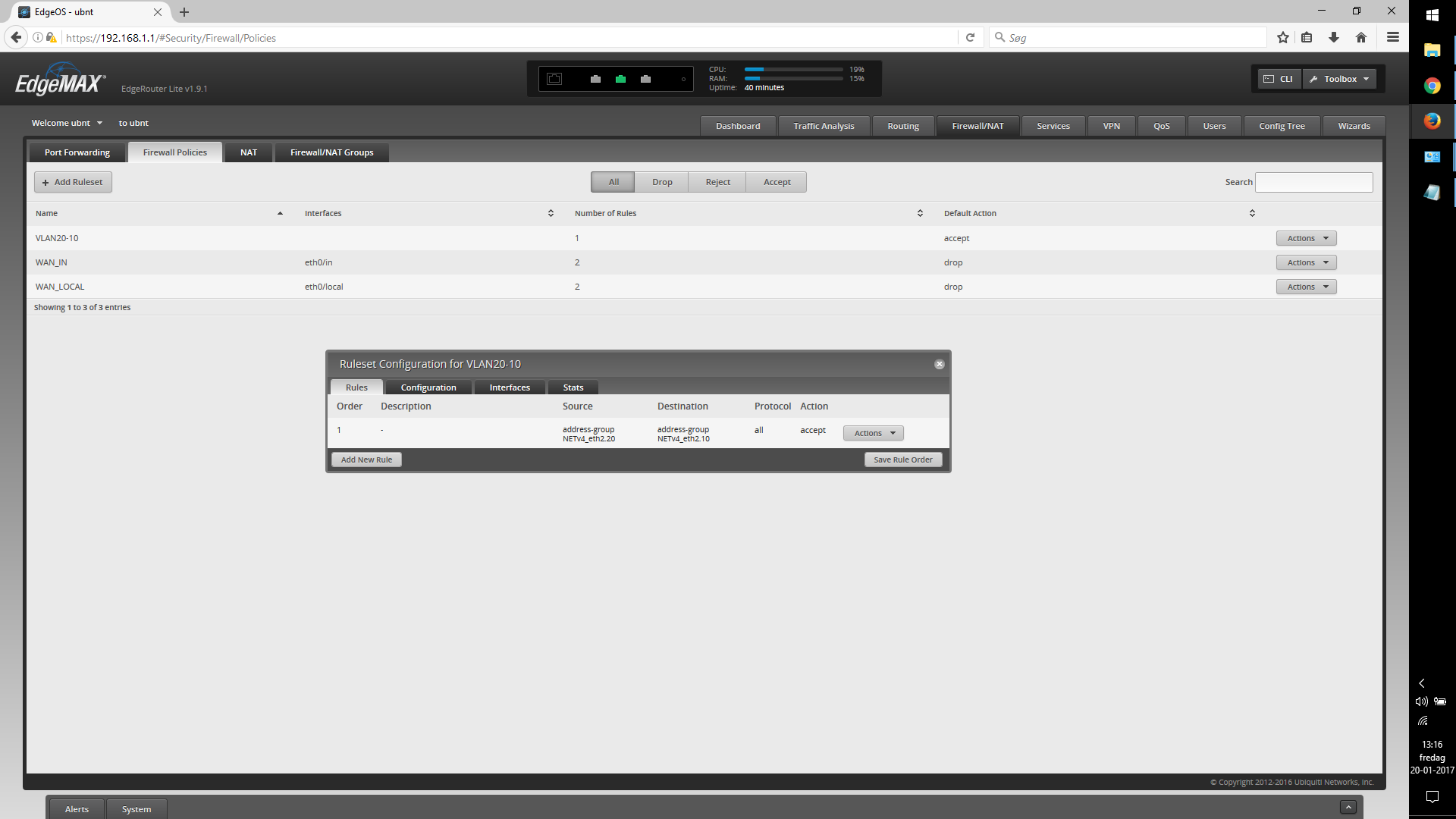 EdgeRouter Lite - Inter-VLAN routing | Ubiquiti Community