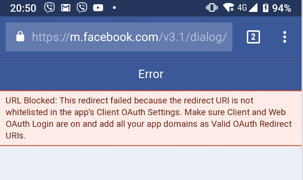 Getting the Hotspot – Facebook guest authentication to work