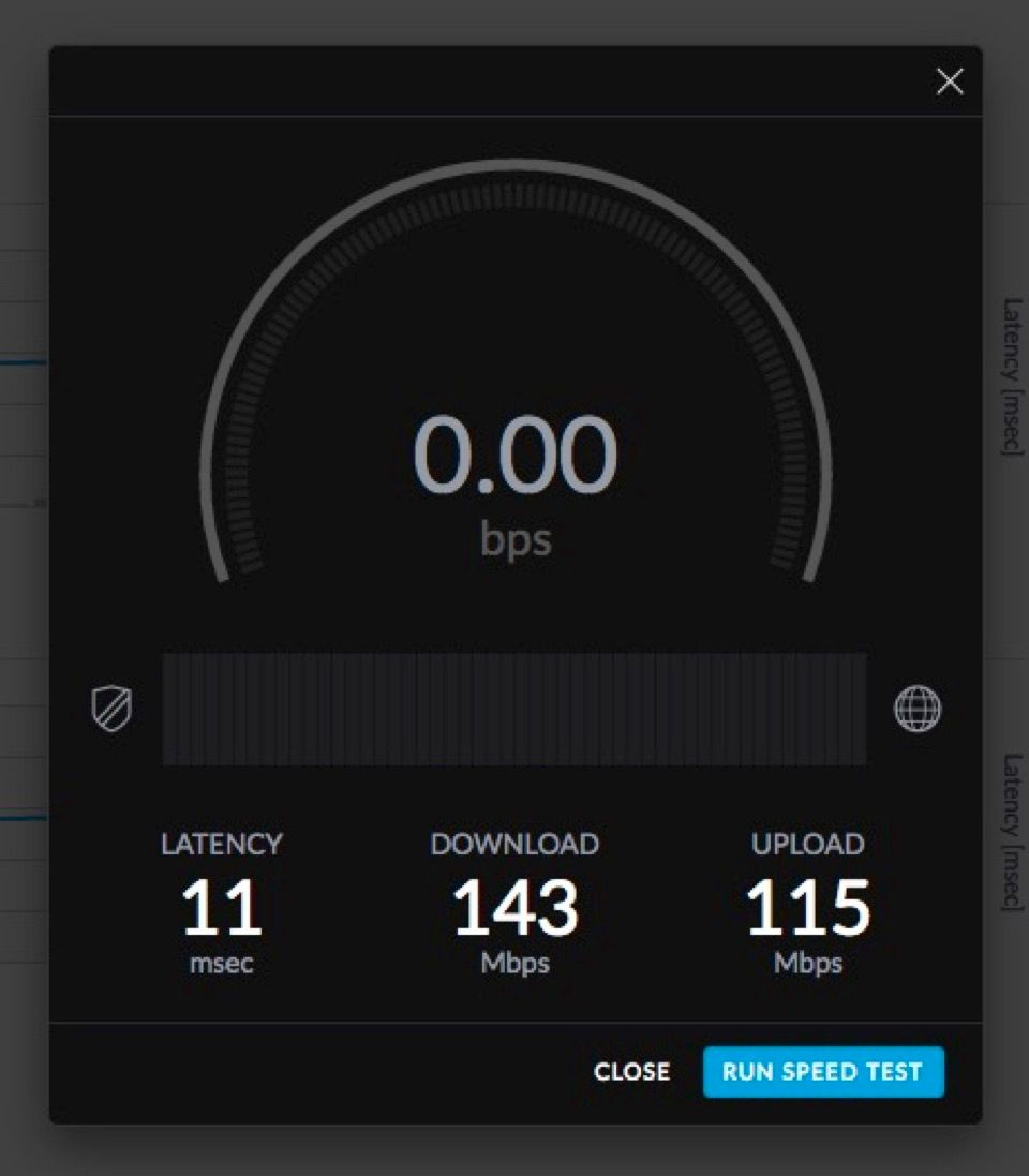 Dashboard Throughput and Latency? | Ubiquiti Community