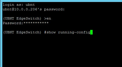 CLI SSH session freezes upon login | Ubiquiti Community