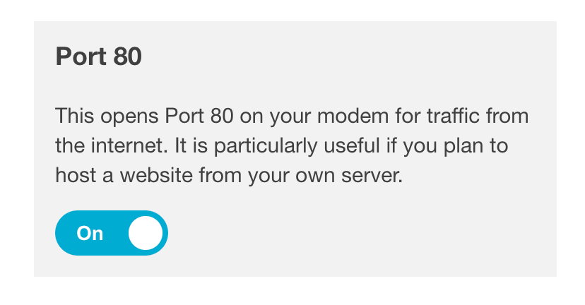 Unable to set port-forwarding reliably on ERX | Ubiquiti