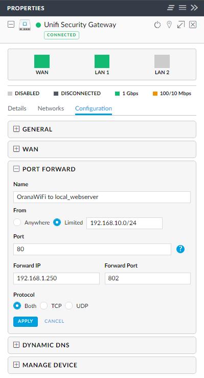 Internal redirect by SSID | Ubiquiti Community