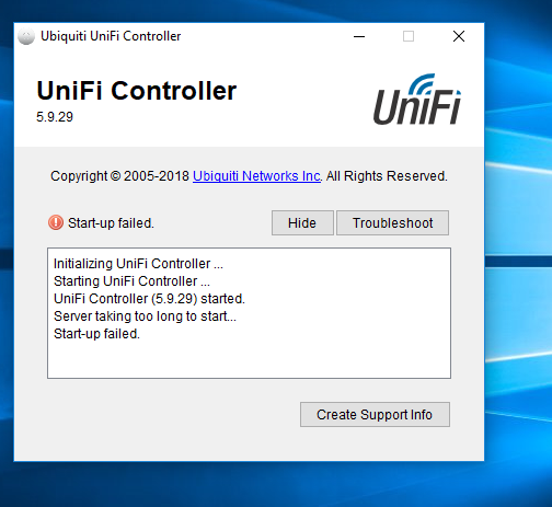 UniFi - Change default ports for controller and UAPs