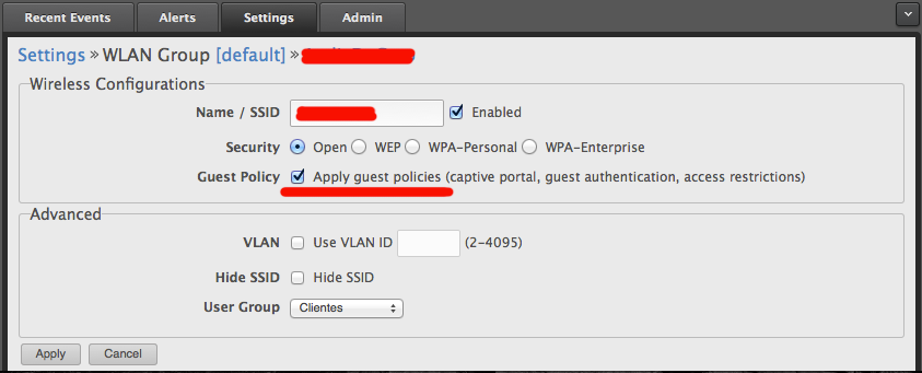 Guest Network - Voucher Hotspot Setup/Config Question | Ubiquiti