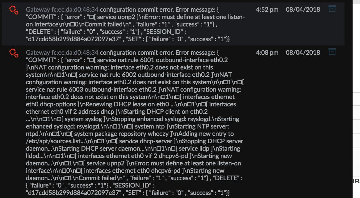 USG and Google Fiber - error during provisioning | Ubiquiti Community