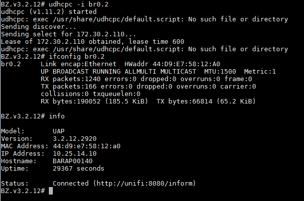 Unifi UAP not holding IP address | Ubiquiti Community