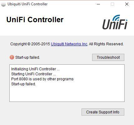 Unifi controller port 8880