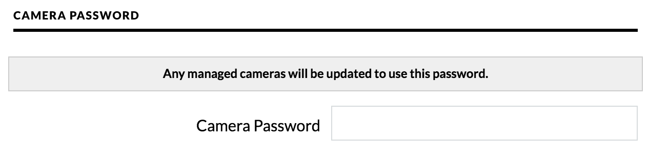 Unknown password to Log in directly to camera managed by NVR