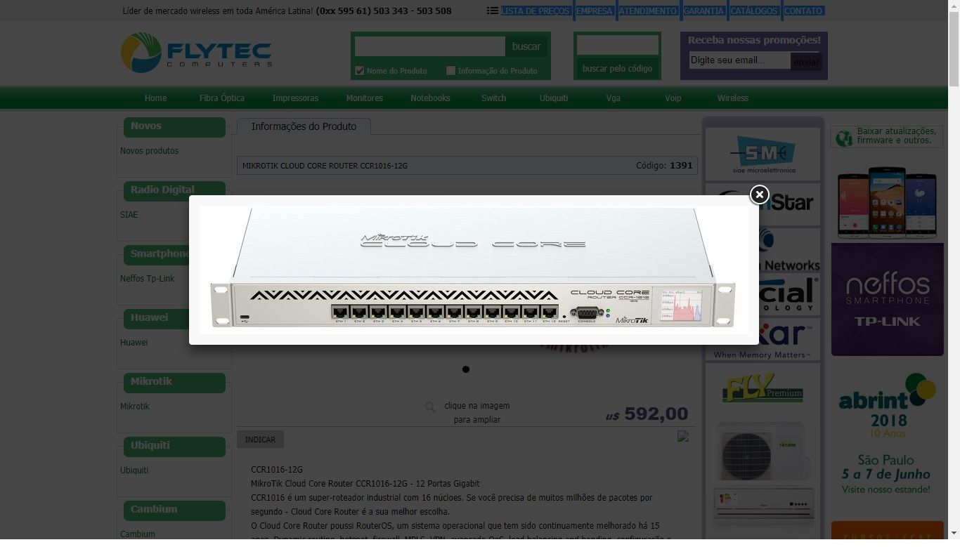 Problem for connect OLT ufiber to mikrotik CCR1016 (without