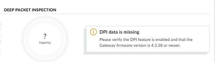 DPI Data is Missing | Ubiquiti Community