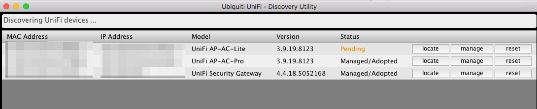 Ubiquiti device discovery tool Failed to initialize UDP port