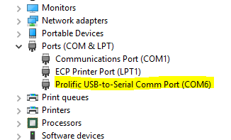 putty not working with console port win10 | Ubiquiti Community