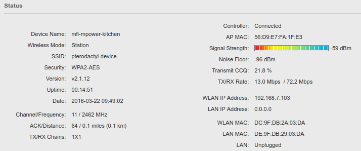 mFi mPower DST Issues with On-Device Schedules   Ubiquiti