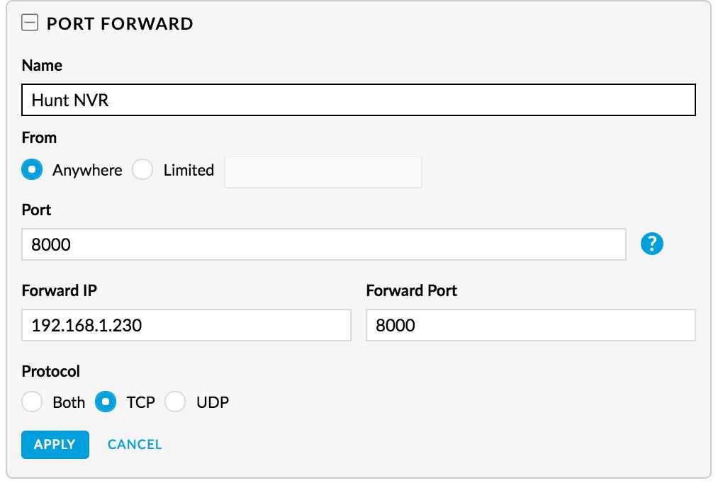 USG Port Forwarding trouble 5 5 24 controller version, 4 3