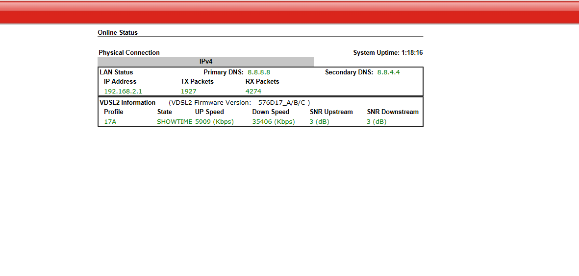 Has my ERX gone down or is it my modem? | Ubiquiti Community