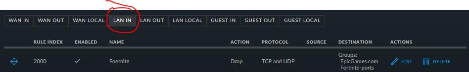 Blocking applications - example Fortnite   Ubiquiti Community