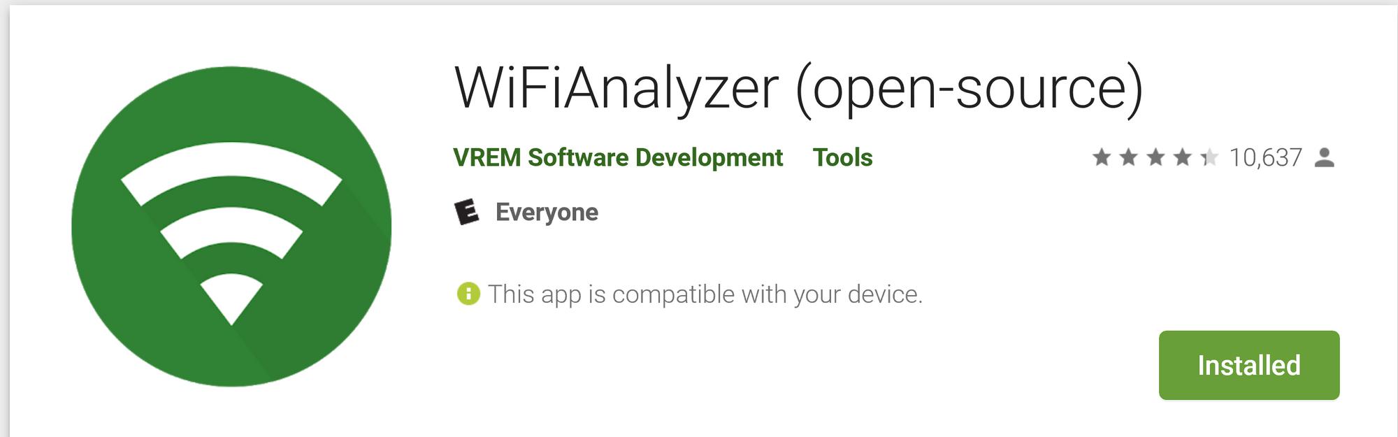 Wifi Analyzer Windows Open Source