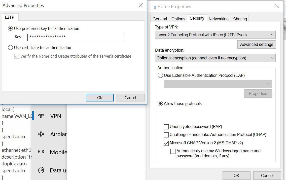 Esp protocol firewall windows 7