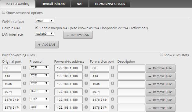 Simple Port Forwarding on GUI   Ubiquiti Community