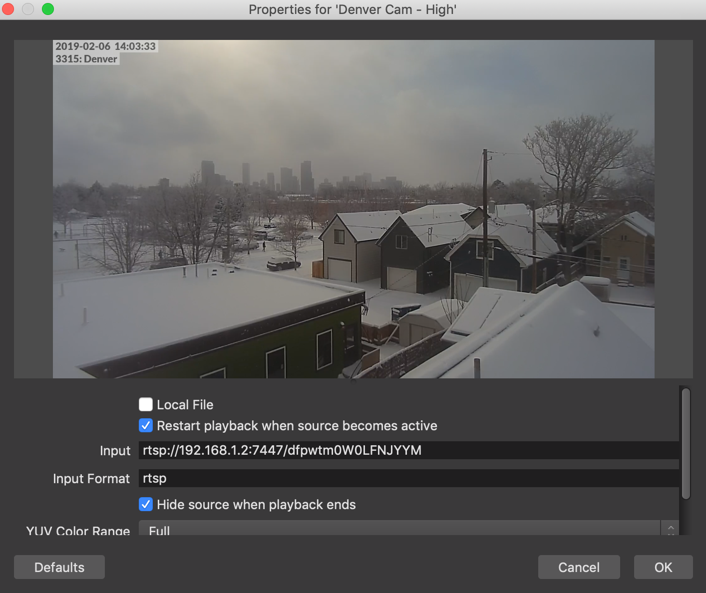 Live Stream UniFi Protect Cameras | Ubiquiti Community