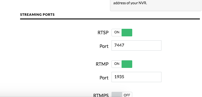 rtmp service is possible¿ | Ubiquiti Community