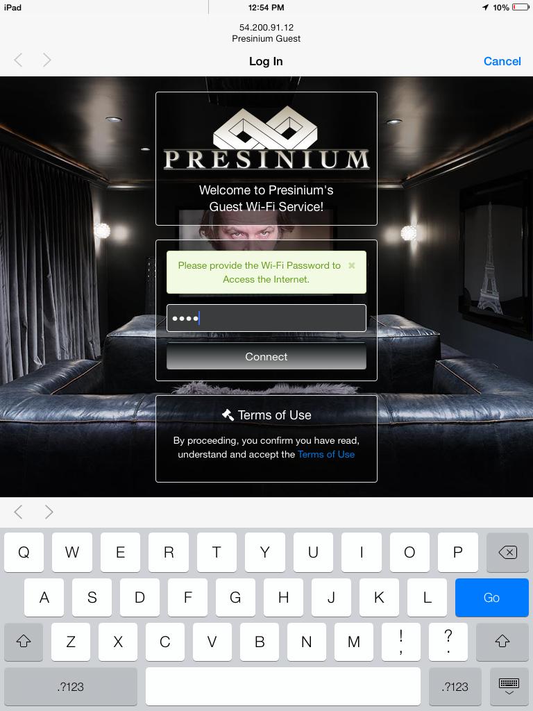 UIKit Styled Responsive / Mobile UniFi Captive Portal