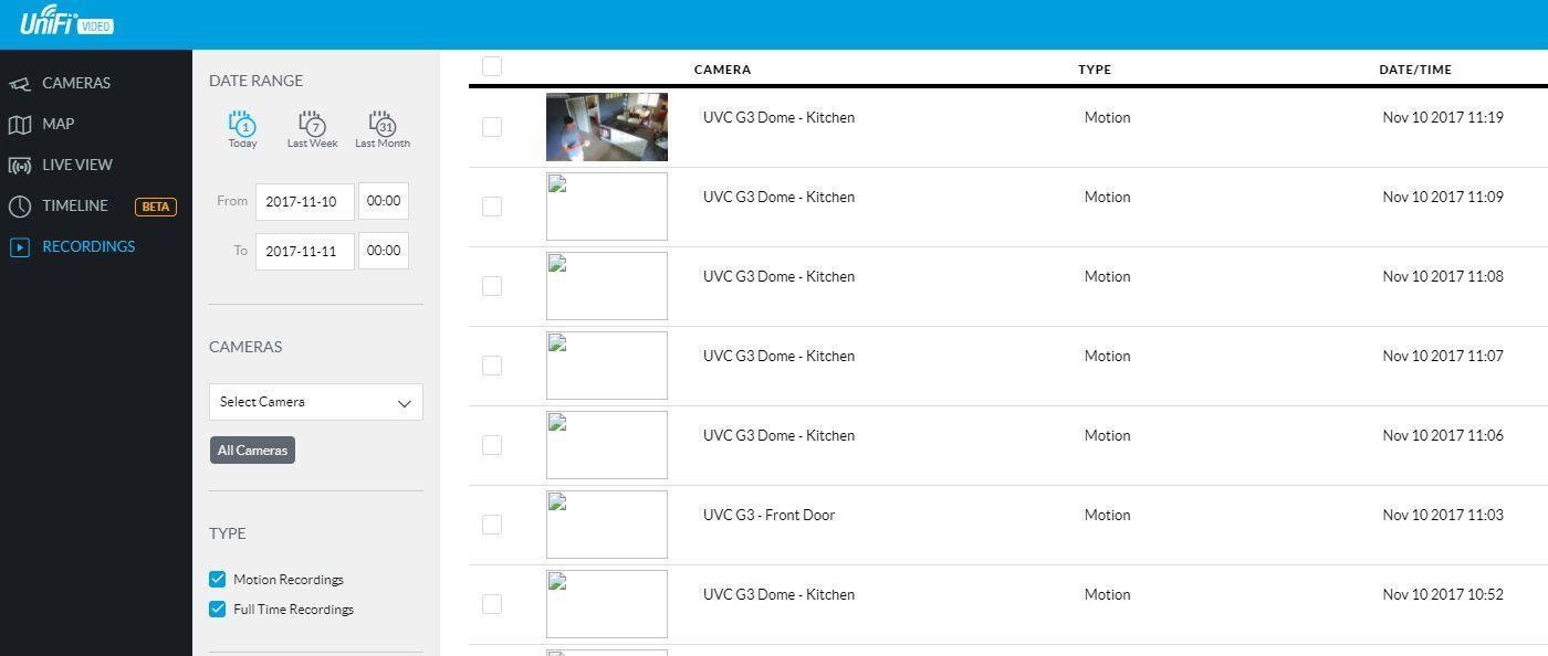 New NVR - Recording show broken image link | Ubiquiti Community