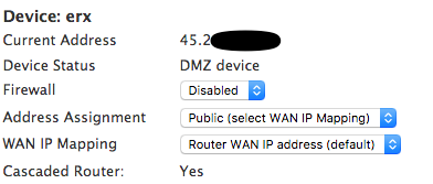 Using an Ubiquiti Edgerouter with AT&T Gigapower fiber