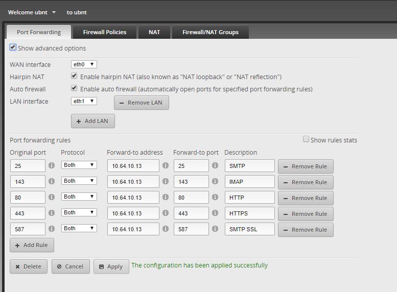 EdgeRouter 4 Port forwarding issues | Ubiquiti Community