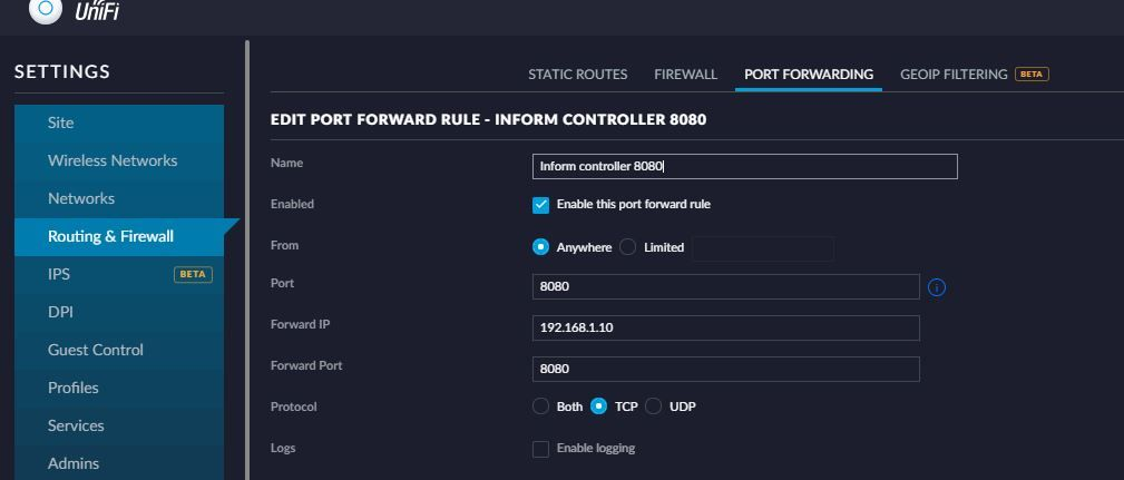 Cannot connect to controller remotely through unifi | Ubiquiti Community