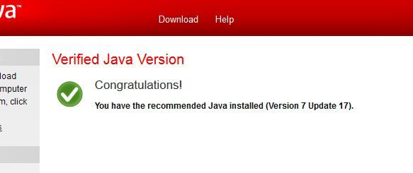 download java environment 1.5 0