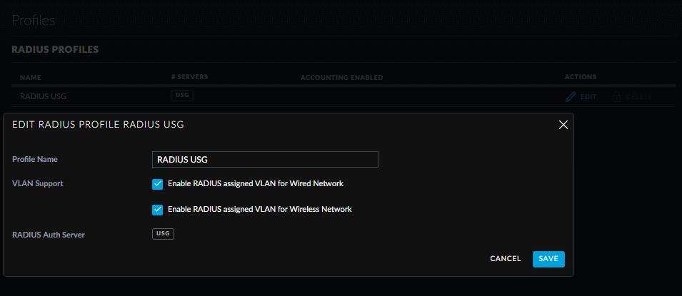 WPA Enterprise + UniFi RADIUS Server VPN/WiFi not working on USG4