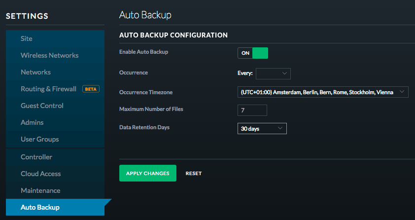 Cloud key Backup | Ubiquiti Community