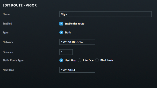 Maintaining access to the DrayTek Vigor 130 web interface