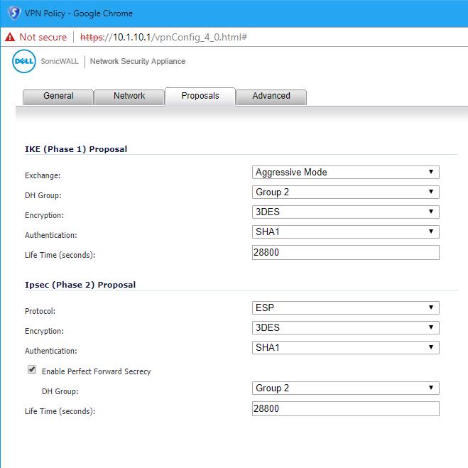 ER-X IPSec VPN to Sonicwall | Ubiquiti Community