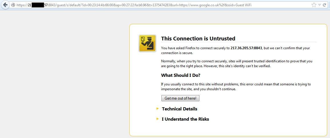 Voucher SSL Creation - Help Please | Ubiquiti Community