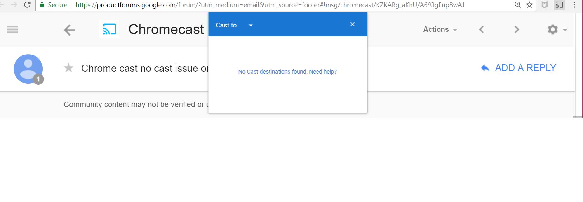 Chromecast Not Working With Ubiquiti