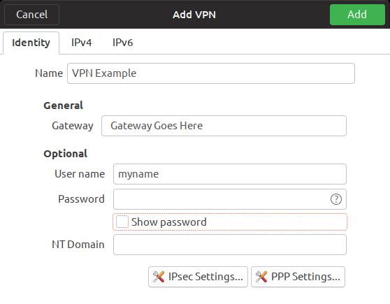 L2TP VPN on Ubuntu 18 04 client   Ubiquiti Community