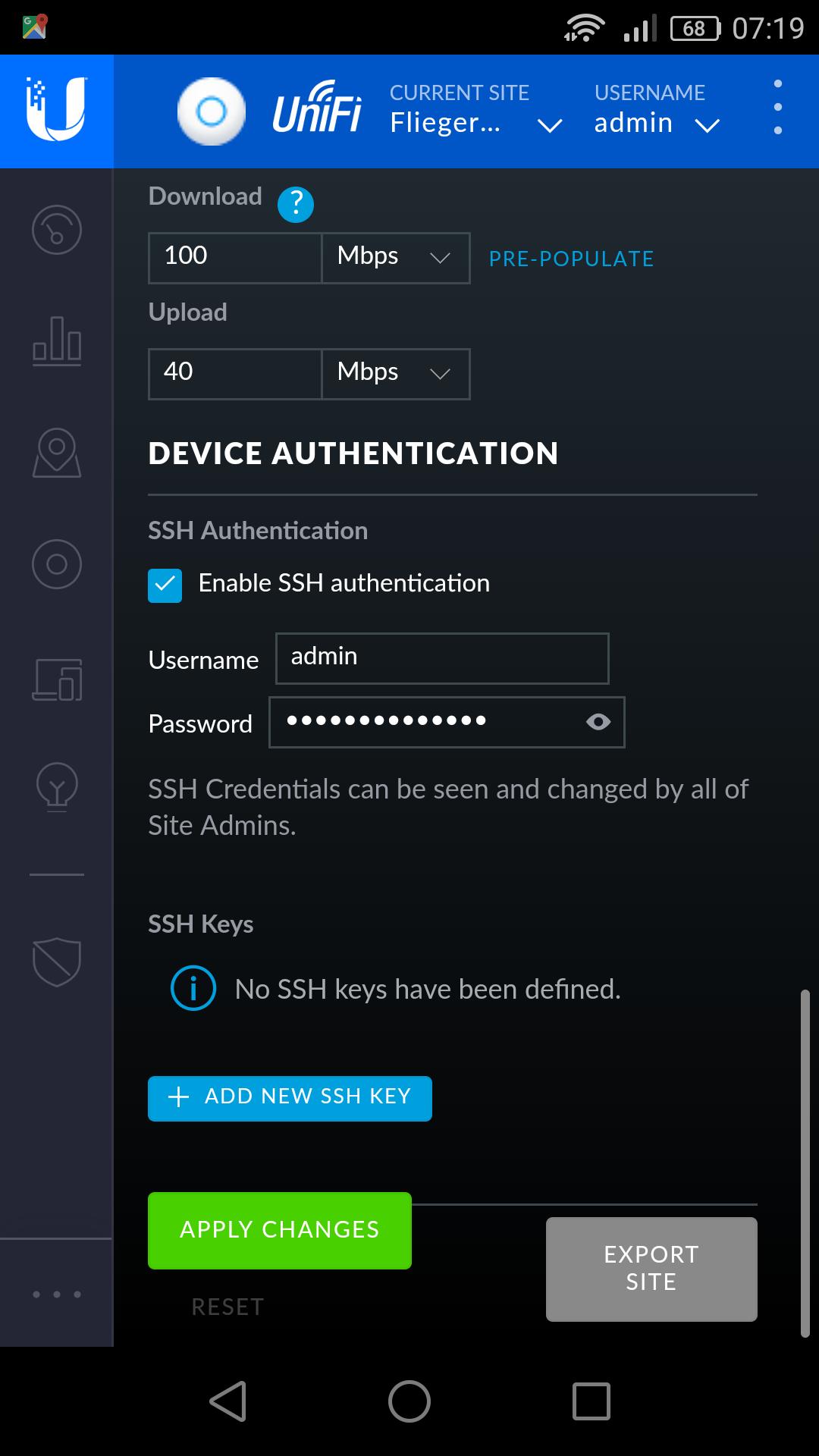 SSH to unifi switches | Ubiquiti Community