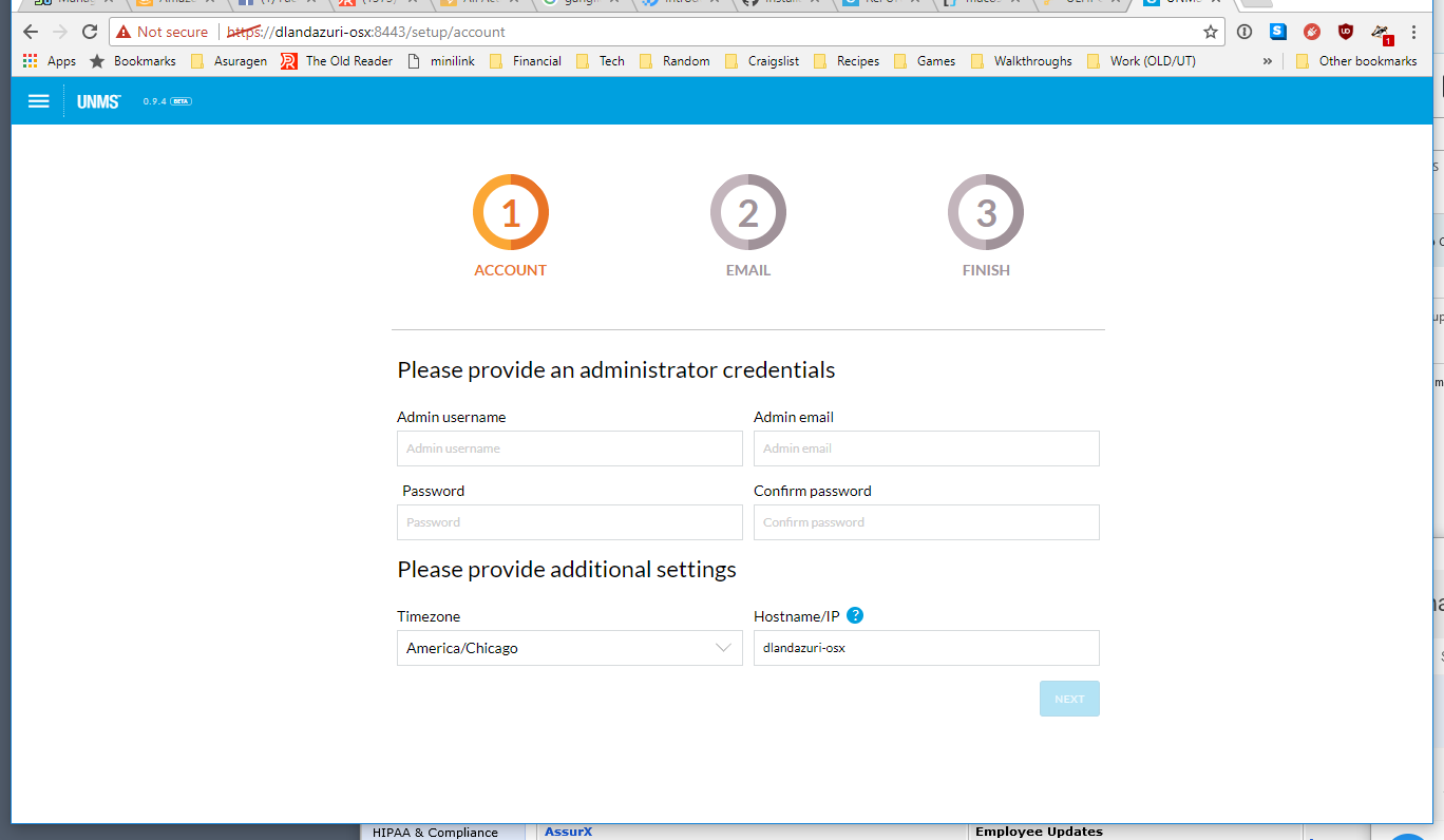 UNMS on 'Docker for Mac' | Ubiquiti Community