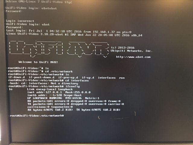 Error after cloning NVR | Ubiquiti Community
