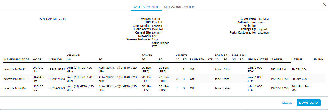 Getting very high ping spikes now and then with Unifi AP-AC