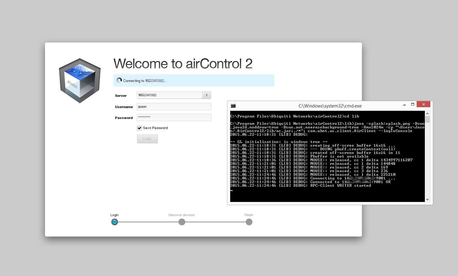 Aircontrol 2 Windows client issue | Ubiquiti Community