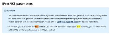 USG <-> Azure S2S VPN BGP with USG Pro | Ubiquiti Community