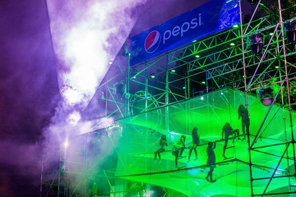 UniFi powered Pepsi's